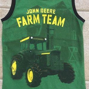 f7611810 John Deere Shirts & Tops - John Deere Boys Tractor Sleeveless Tank Top Shirt